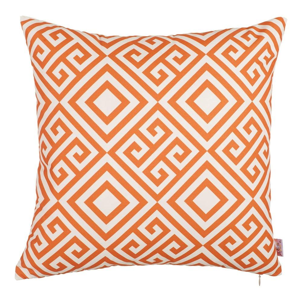 Oranžový poťah na vankúš Mike & Co. NEW YORK Summer Dream, 43 × 43 cm