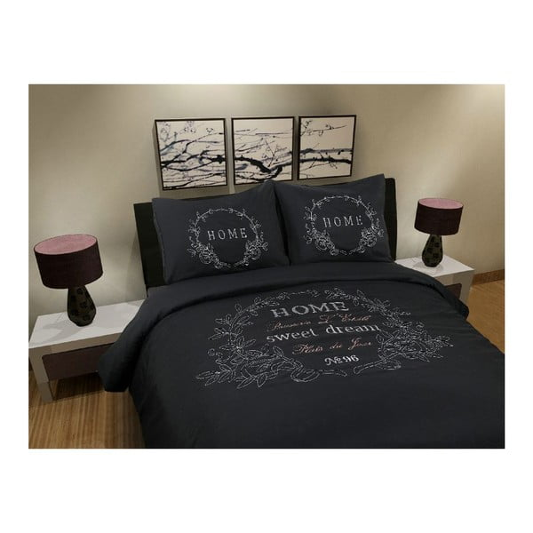 Obliečky Muller Textiel Black Home, 240x200cm