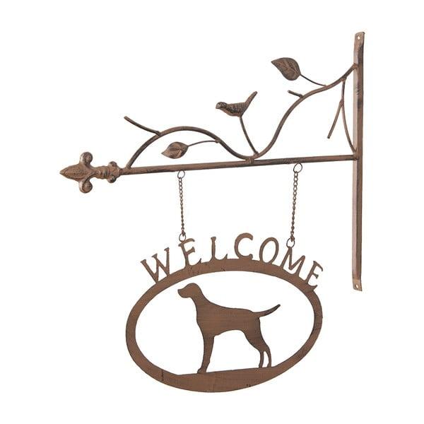 Závesná dekorácia Welcome Dog