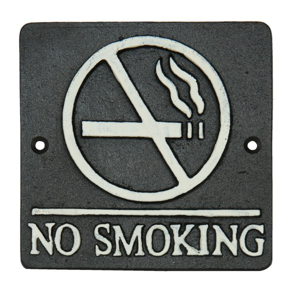 Nástenná ceduľa No Smoking