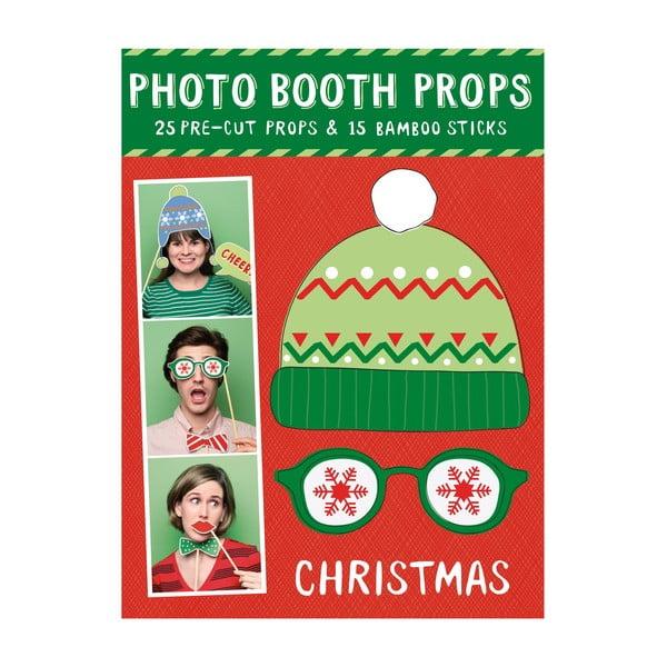 Vianočné rekvizity (nielen) do fotobúdky Galison Mudpuppy Photo Booth Props Christmas