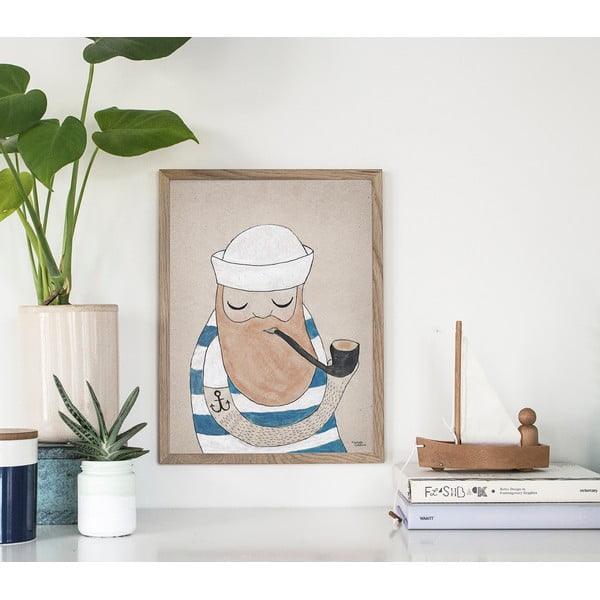 Plagát Michelle Carlslund Sailor, 30x40cm