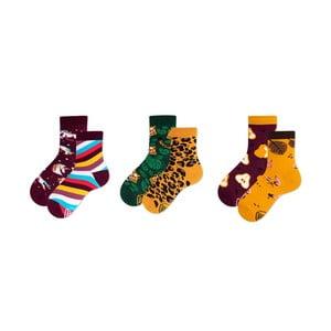 Sada 3 párov detských ponožiek v darčekovom balení Many Mornings Unicorn, veľ. 31–34