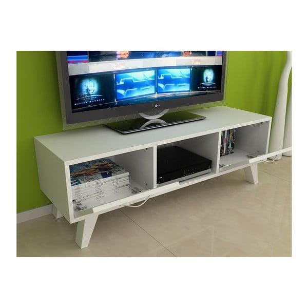 Televízny stolík Nil White