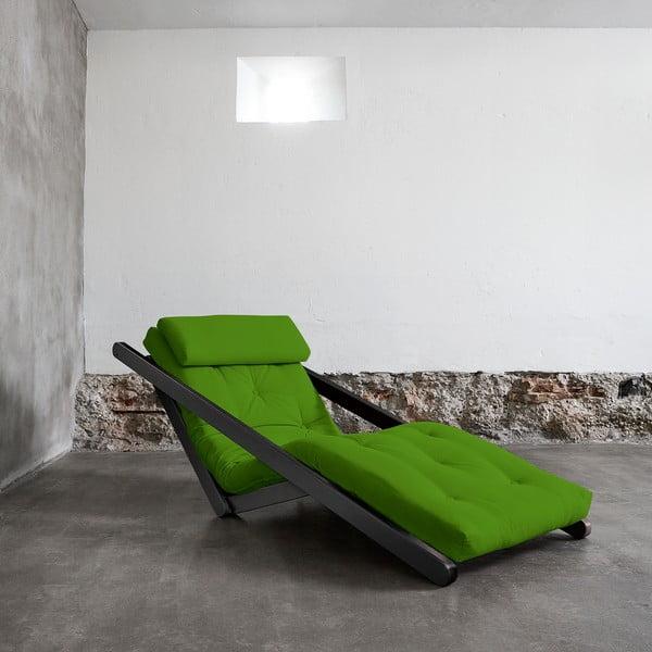 Leňoška Karup Figo Wenge / Lime,  70 cm