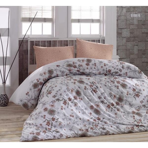Obliečky Brown Dot s plachtou, 160x220 cm