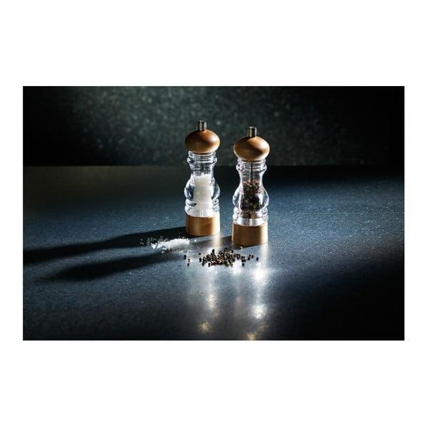 Mlynček na soľ Kitchen Craft  Master Class, výška 18 cm