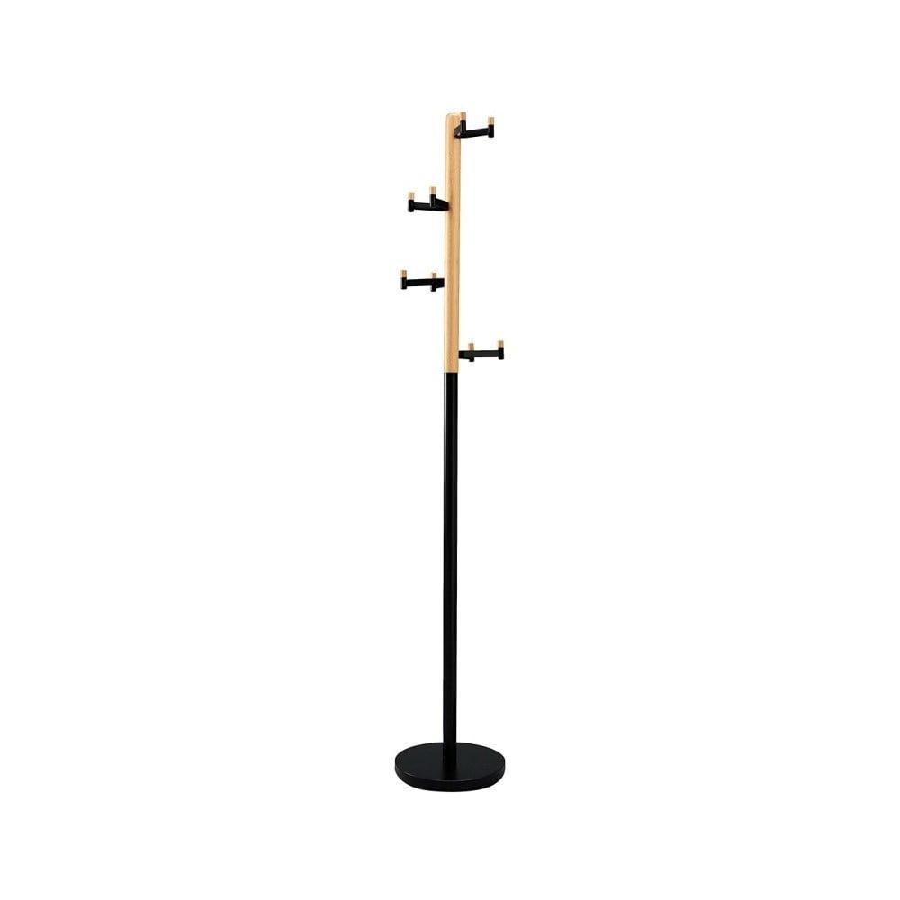 Čierny vešiak Design Twist Manali