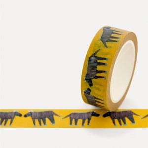 Washi páska U Studio Design Zebra, dĺžka 4 m