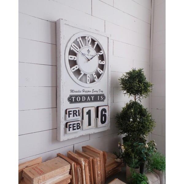 Nástenné hodiny Perpetuo Calendar, 71 cm