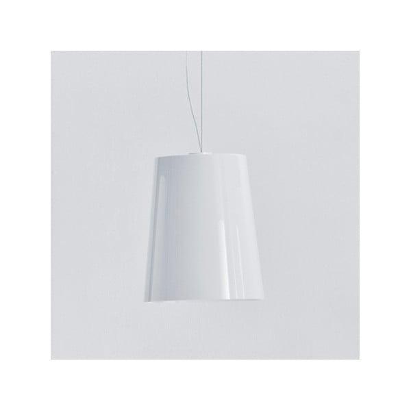 Závesné svietidlo Pedrali L001S/A, plné biele