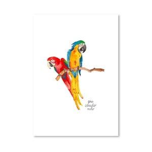 Autorský plagát Birds, 30x42 m