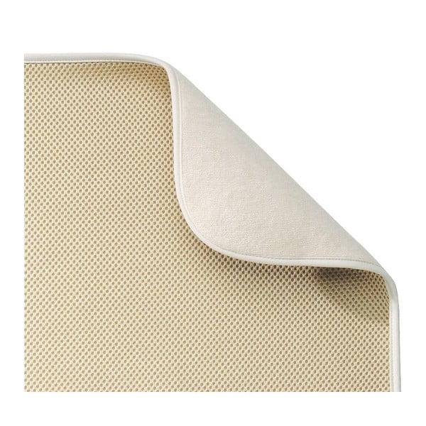 Béžová podložka na umytý riad InterDesign iDry, 46x41cm