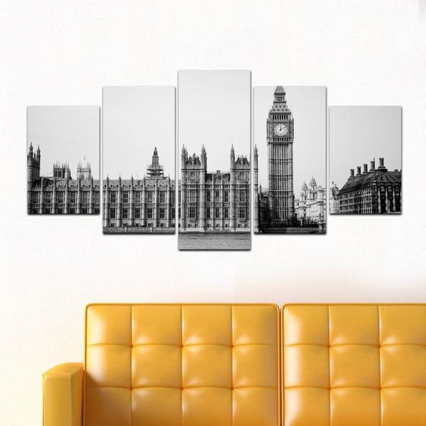 Viacdielny obraz Black&White no. 14, 100x50 cm