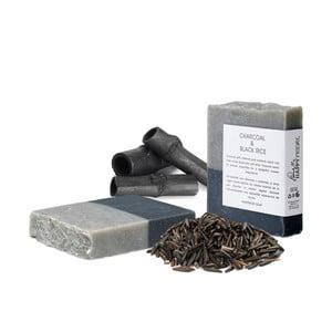 Prírodné mydlo s aktívnym uhlím a čiernou ryžou HF Living