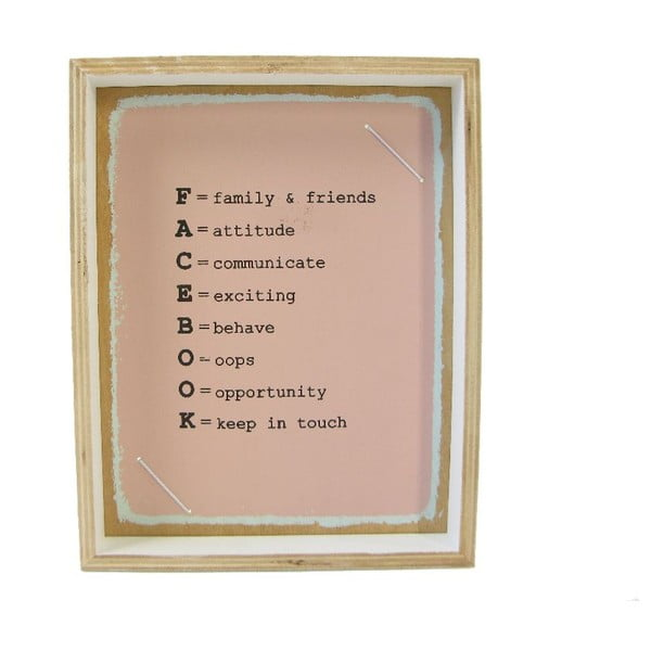 Fotorámček Plywood, 19x24 cm