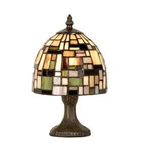 Tiffany stolná lampa Patchwork