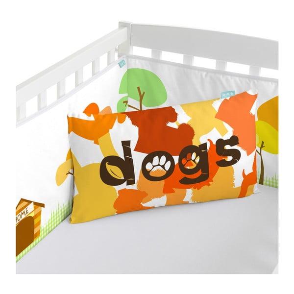Výstelka do postieľky Dogs, 70x70x70 cm