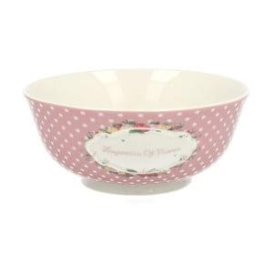 Porcelánová miska Retro Pink, 16 cm