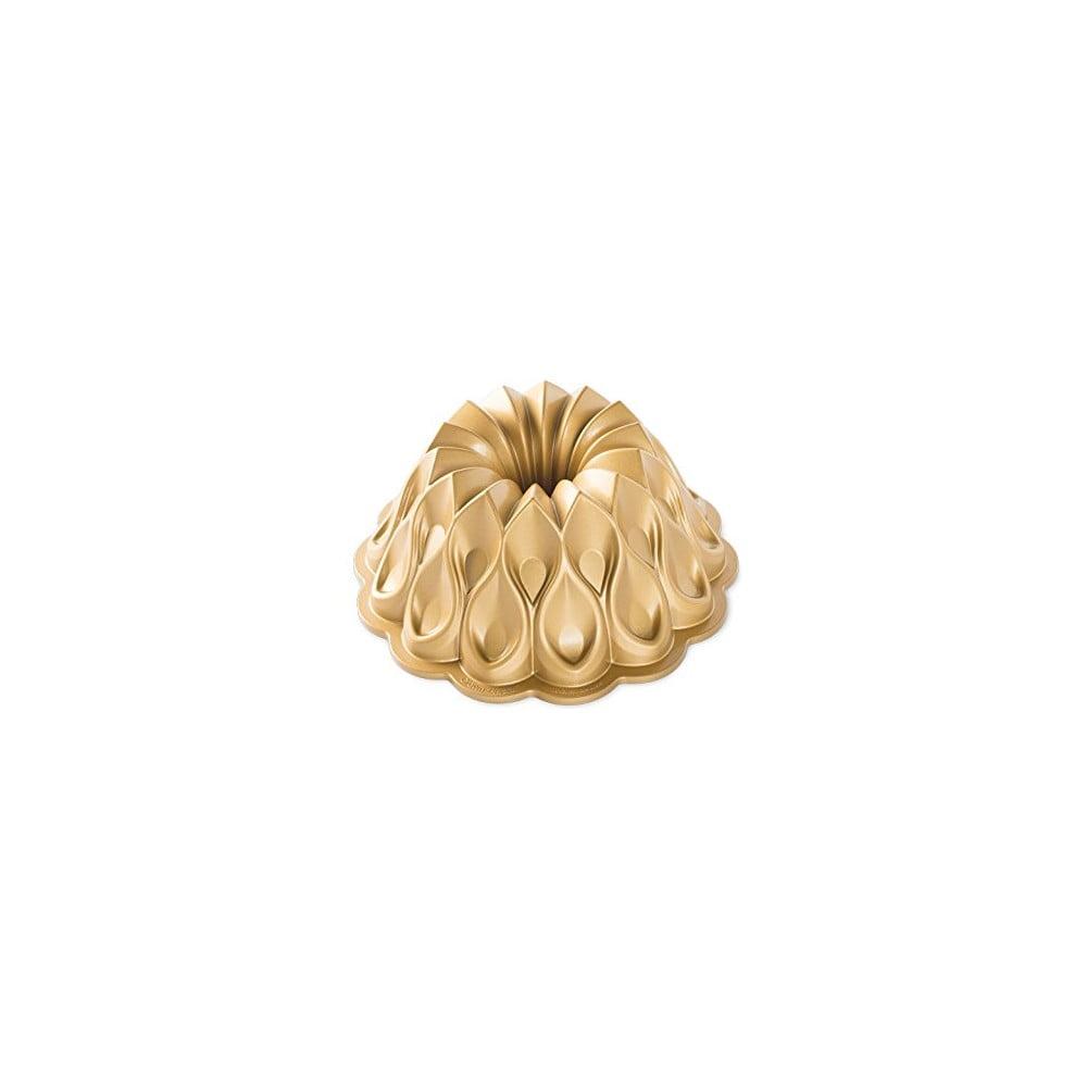 Forma na bábovku v zlatej farbe Nordic Ware Crown, ⌀ 25 cm