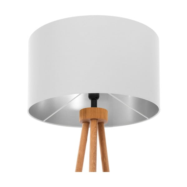 Stojacia lampa Light Gray Silver