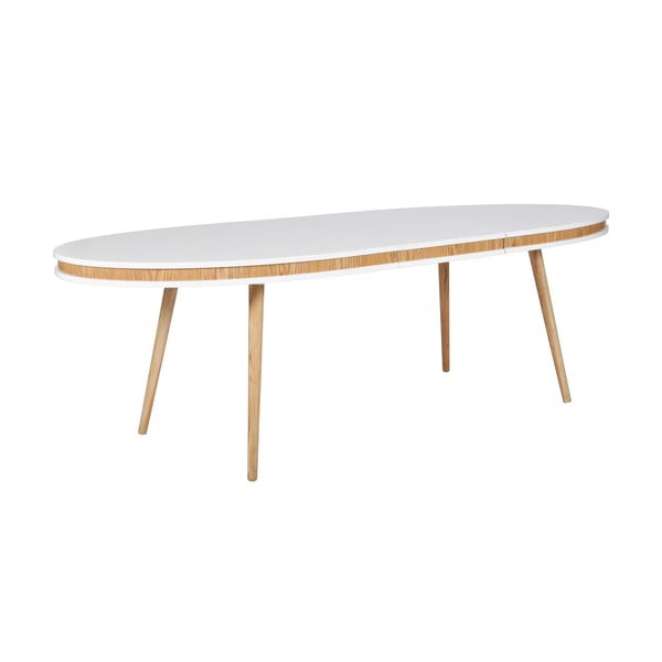 Rozkladací jedálenský stôl Hugo, dub