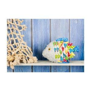 Vinylový koberec Fishnet, 52x75 cm