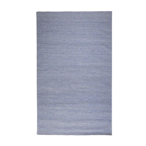 Vlnený koberec Casa Blue/White, 160x230 cm