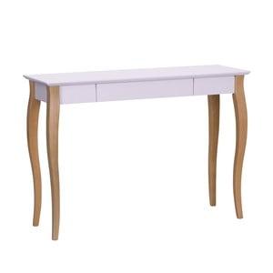 Ružový písací stôl Ragaba Lillo,dĺžka105cm