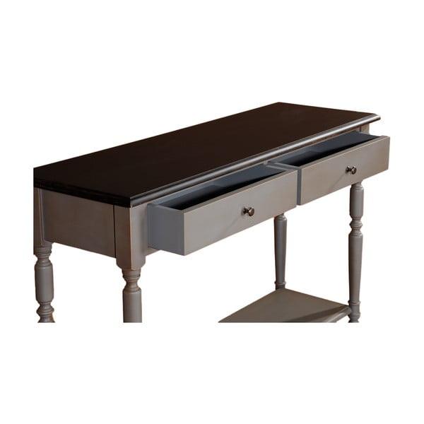 Konzolový stolík s 2 zásuvkami Transilvania