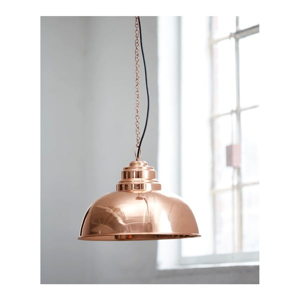 Stropné svietidlo vo farbe medi Fuhrhome Nice