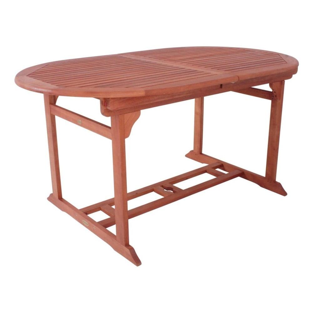 Záhradný rozkladací stôl z eukalyptového dreva ADDU Stockholm
