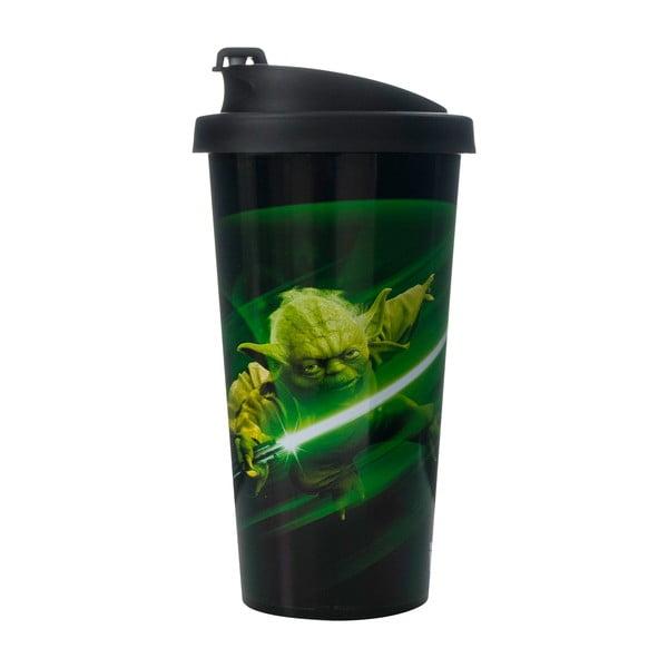 Cestovný pohárik LEGO® Star Wars Yoda, 500ml