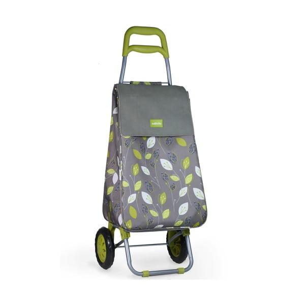 Pojazdná nákupná taška Lemon Grass