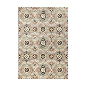 Modrý koberec Mint Rugs Diamond Ornament, 200 x 290 cm