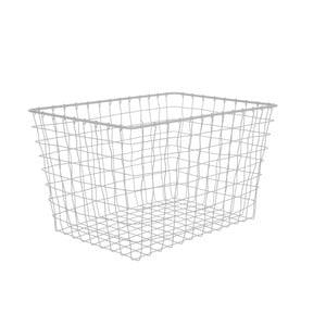 Košík Present Time Linea Mouse Grey