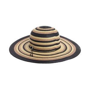 Slamený klobúk BLE by Inart Stripes