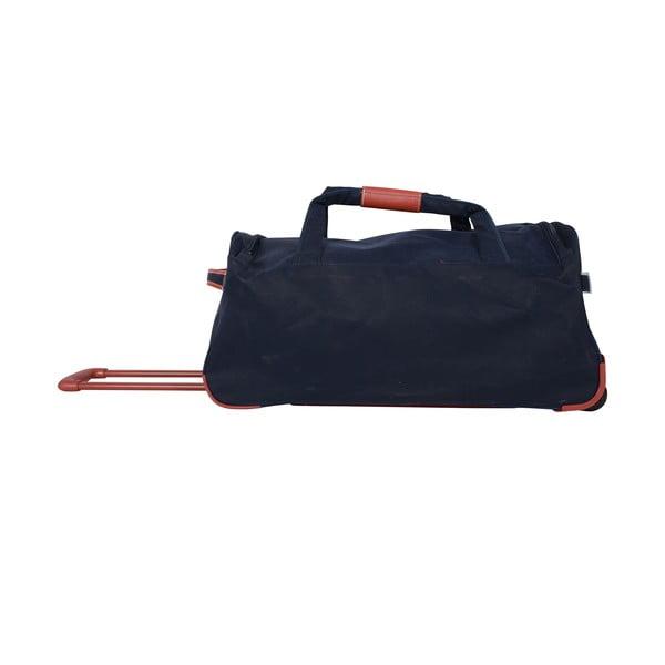 Cestovná taška na kolieskach Jean Louis Scherrer Black, 60 l