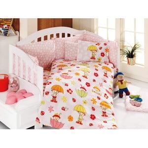 Set detských obliečok a plachty Rainy Day, 100x150 cm