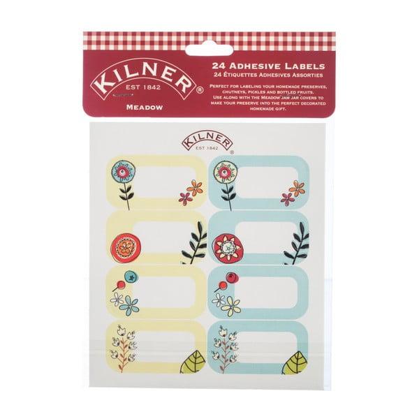 Sada 24 štítkov na nádoby Kilner II