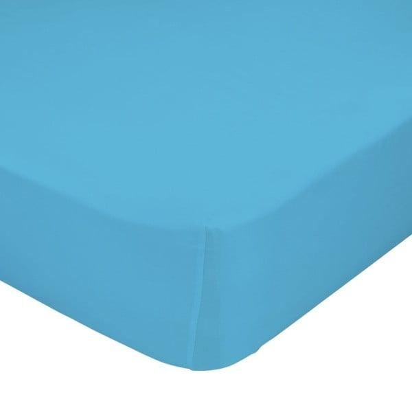 Tyrkysová elastická plachta HF Living Basic, 90 x 200 cm