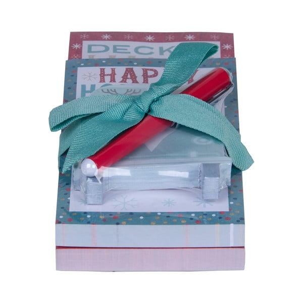 Set bločkov a ceruzkyTri-Coastal Design Happy Holidays