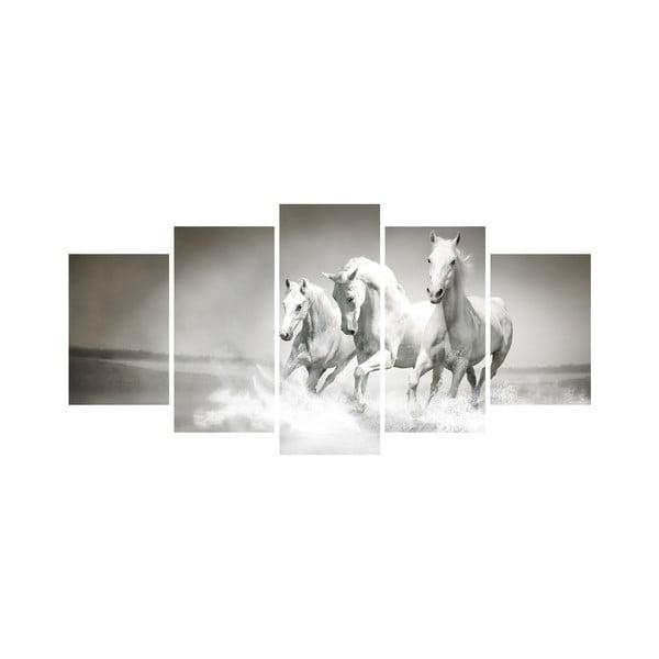Viacdielny obraz Black&White no. 61, 100x50 cm