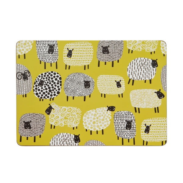 Sada 4 prestieraní Dotty Sheep
