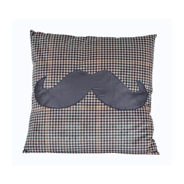 Vankúš Ewax Mustache, 45×45cm