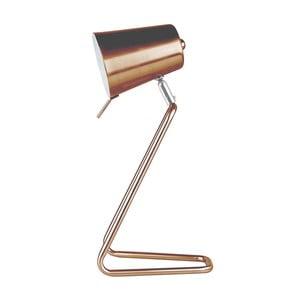 Stolová lampa v medenej farbe Leitmotiv Z Metal