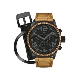 Dámske hodinky Marc Coblen s remienkom a krúžkom na ciferník naviac P50