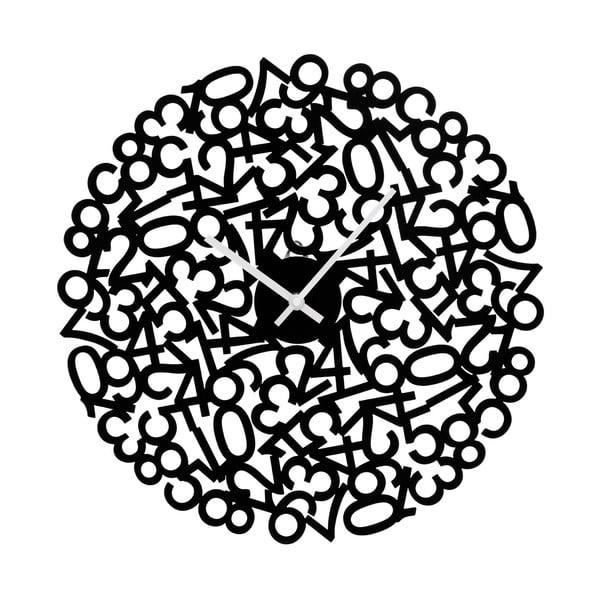 Nástenné hodiny Black Numbers, 40 cm