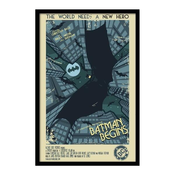 Plagát Batman Begins, 35x30 cm