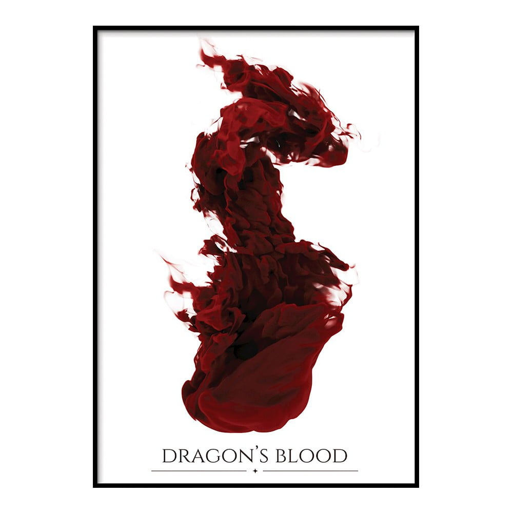 Plagát DecoKing Dragons Blood, 50 x 40 cm